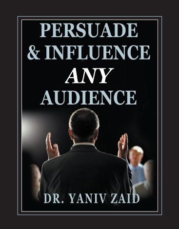 book_0001_Interesting Information and results of the Best Seller book - Persuade and Influence any Audience - by Dr. Ya